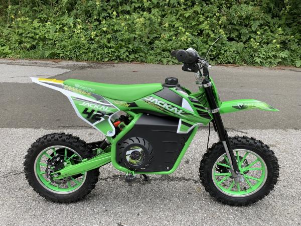 Mini Motocicleta electrica Eco Jackal 1000W 10 inch #Verde [3]