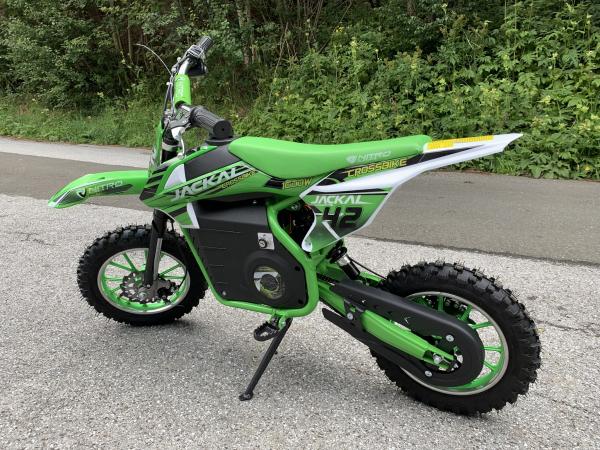 Mini Motocicleta electrica Eco Jackal 1000W 10 inch #Verde [2]