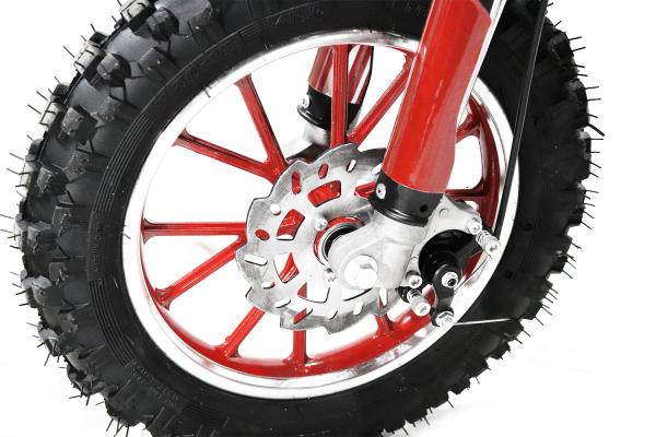 Mini Motocicleta electrica Eco Jackal 1000W 10 inch #Rosu 2