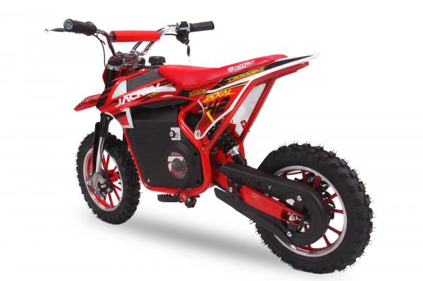 Mini Motocicleta electrica Eco Jackal 1000W 10 inch #Rosu 3