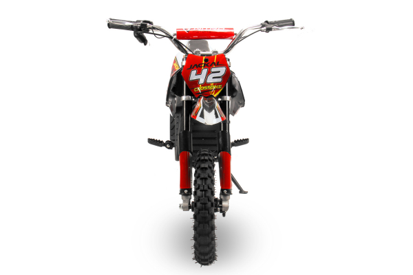 Mini Motocicleta electrica Eco Jackal 1000W 10 inch #Rosu 4