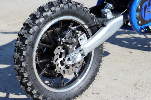 Mini motocicleta electrica NITRO Eco Serval 500W 10/10 #Albastru 5