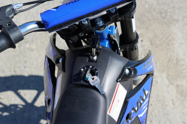 Mini motocicleta electrica NITRO Eco Serval 500W 10/10 #Albastru 7