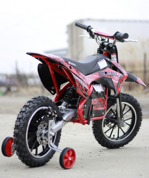 Mini motocicleta electrica NITRO Eco Serval 500W 10/10 #Rosu 4
