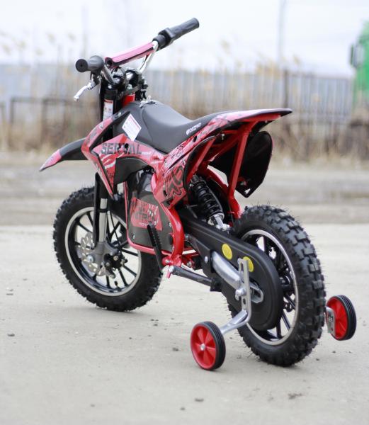 Mini motocicleta electrica NITRO Eco Serval 500W 10/10 #Rosu 3