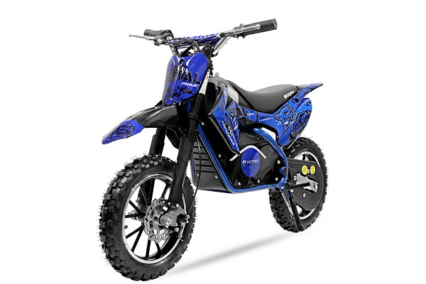 Mini motocicleta electrica NITRO Eco Serval 500W 10/10 #Albastru 0