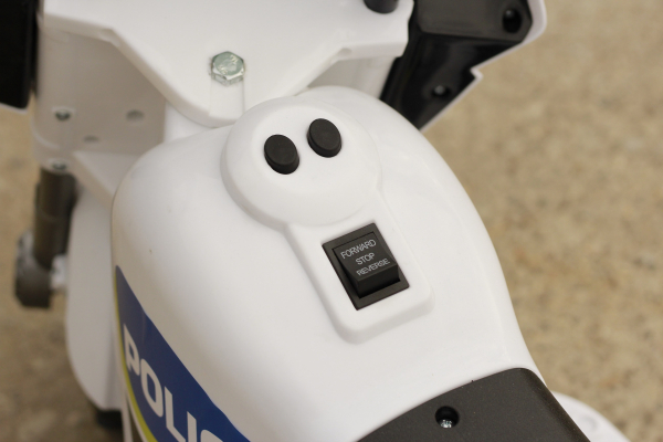 Mini Motocicleta electrica Police Motorbike TR1912 STANDARD #Alb 10