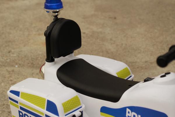 Mini Motocicleta electrica Police Motorbike TR1912 STANDARD #Alb 12