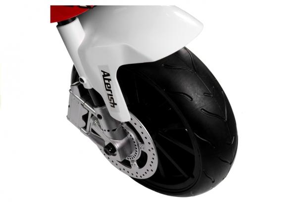 Motocicleta electrica cu roti ajutatoare BMW S1000RR PREMIUM #Rosu [7]