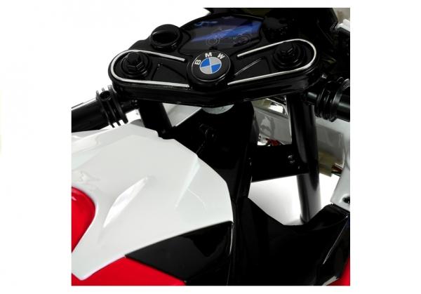 Motocicleta electrica cu roti ajutatoare BMW S1000RR PREMIUM #Rosu [8]