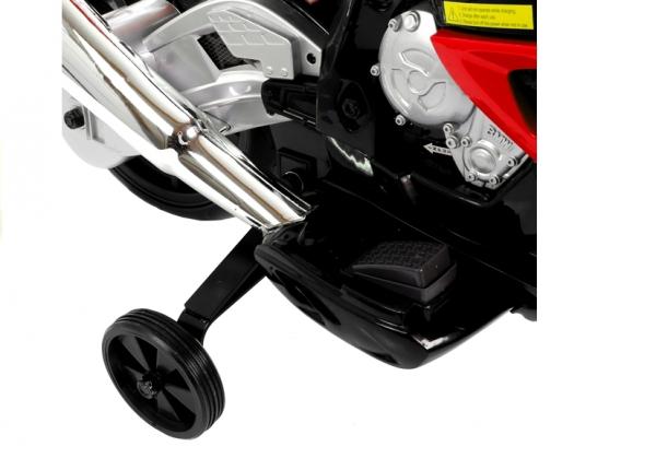Motocicleta electrica cu roti ajutatoare BMW S1000RR PREMIUM #Rosu [3]