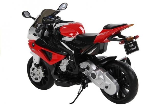 Motocicleta electrica cu roti ajutatoare BMW S1000RR PREMIUM #Rosu [6]