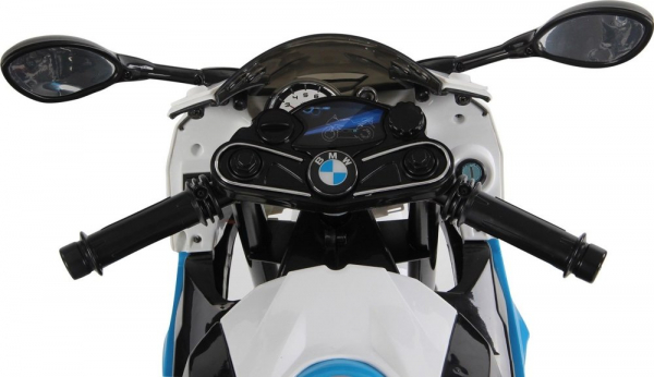 Motocicleta electrica cu roti ajutatoare BMW S1000RR PREMIUM #Albastru 2