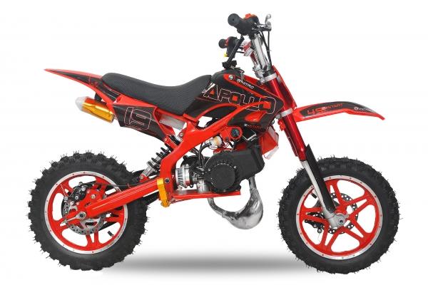 Motocicleta electrica Eco Apollo 1000W 36V 10 inch #Rosu [0]