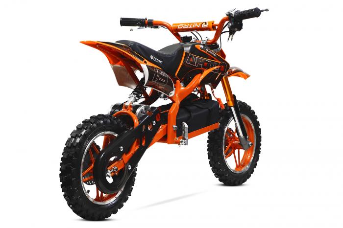 Motocicleta electrica pentru copii Apollo 1000W, portocaliu [5]