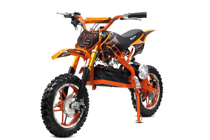 Motocicleta electrica pentru copii Apollo 1000W, portocaliu [0]