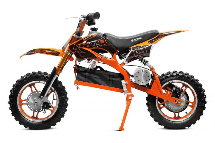 Motocicleta electrica pentru copii Apollo 1000W, portocaliu [2]