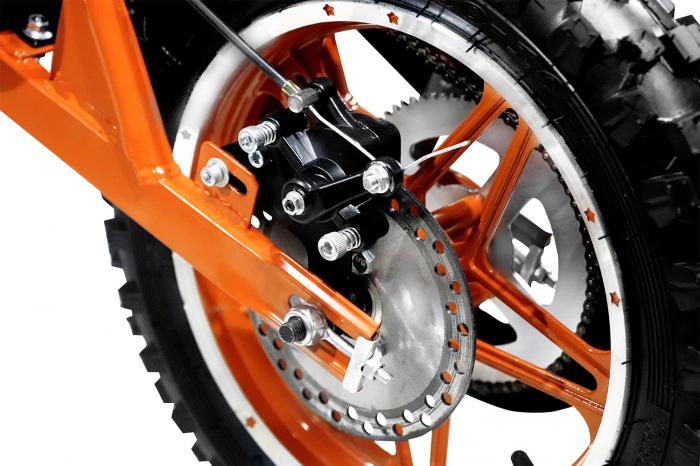 Motocicleta electrica pentru copii Apollo 1000W, portocaliu [12]