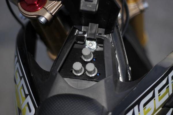 Motocicleta electrica Eco Tiger 1000W 36V 12/10 #Galben 5