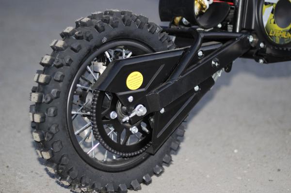 Motocicleta electrica Eco Tiger 1000W 36V 12/10 #Galben 4