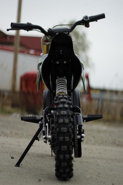Motocicleta electrica Eco Tiger 1000W 36V 12/10 #Verde 5
