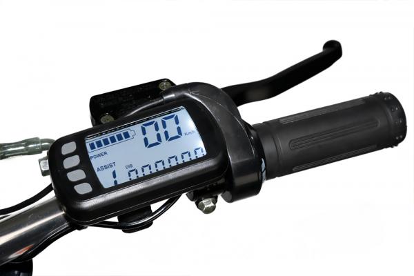 Motocicleta electrica Eco NRG 800W 48V 12/10 #Portocaliu 13