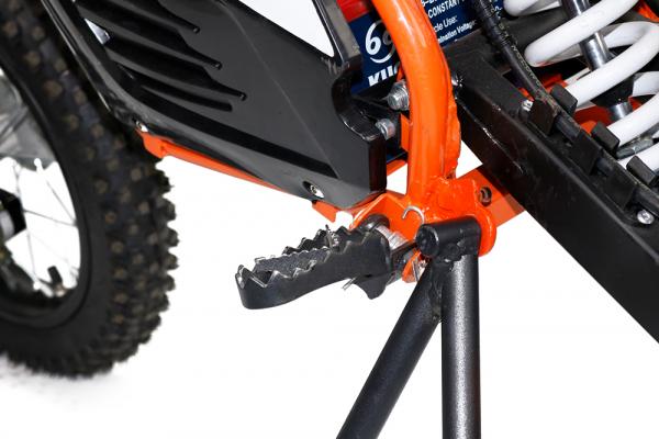 Motocicleta electrica Eco NRG 500W 48V 12/10 #Portocaliu 15