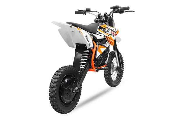 Motocicleta electrica Eco NRG 500W 48V 12/10 #Portocaliu 7