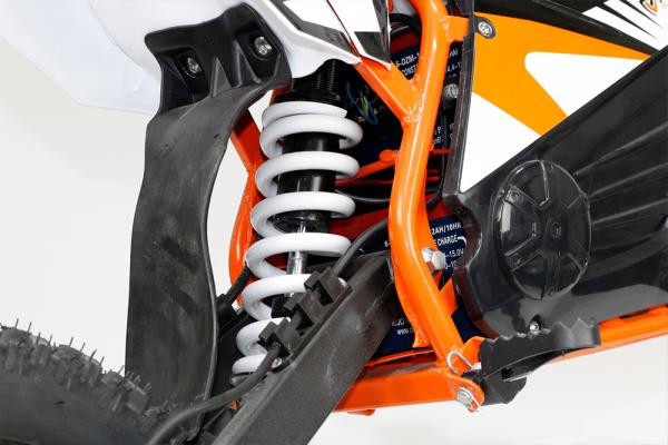Motocicleta electrica Eco NRG 500W 48V 12/10 #Portocaliu 12