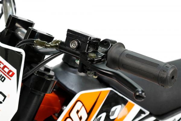 Motocicleta electrica Eco NRG 500W 48V 12/10 #Portocaliu 10