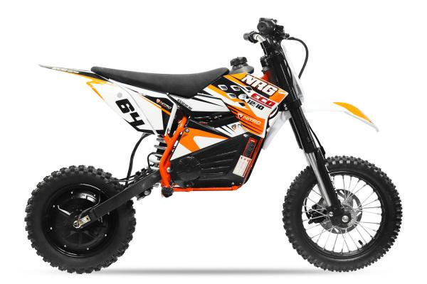Motocicleta electrica Eco NRG 500W 48V 12/10 #Portocaliu 6