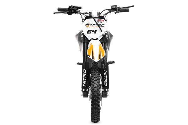 Motocicleta electrica Eco NRG 800W 48V 12/10 #Portocaliu 4