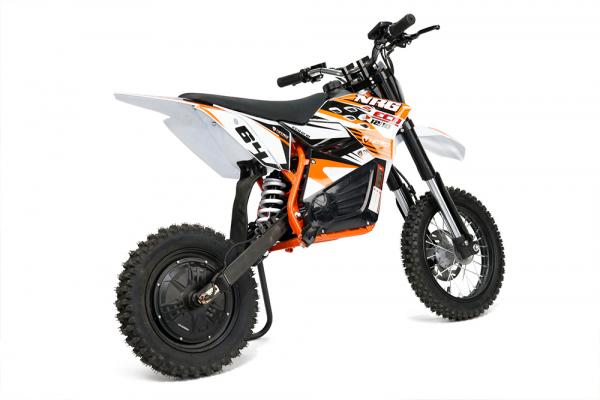 Motocicleta electrica Eco NRG 800W 48V 12/10 #Portocaliu 3