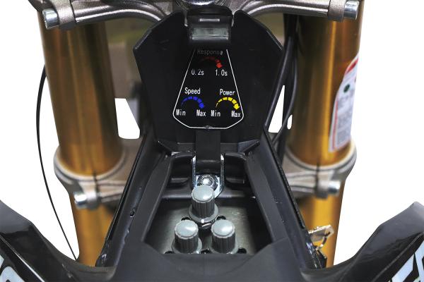 Motocicleta electrica Eco Tiger 1300W 14/12 48V 14Ah Lithiu ION #Verde 12