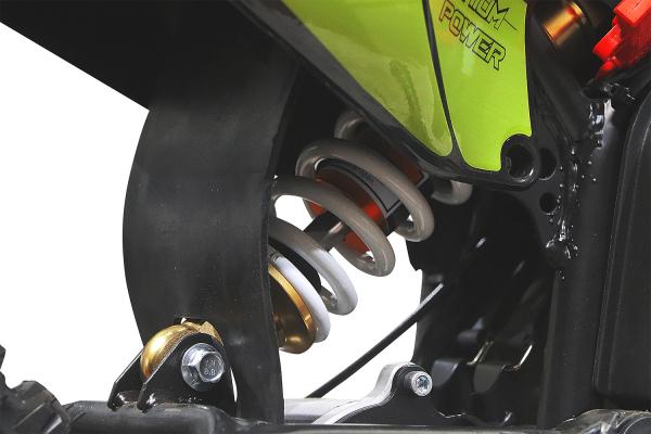 Motocicleta electrica Eco Tiger 1300W 14/12 48V 14Ah Lithiu ION #Verde 6