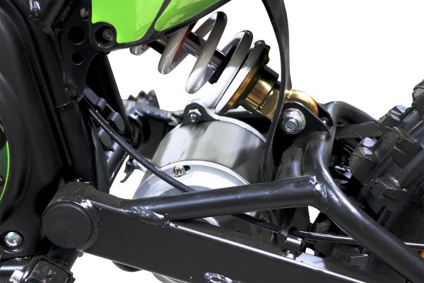 Motocicleta electrica Eco Tiger 1300W 14/12 48V 14Ah Lithiu ION #Verde 7