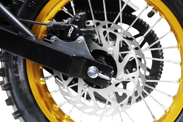 Motocicleta electrica Eco Tiger 1300W 14/12 48V 14Ah Lithiu ION #Verde 8