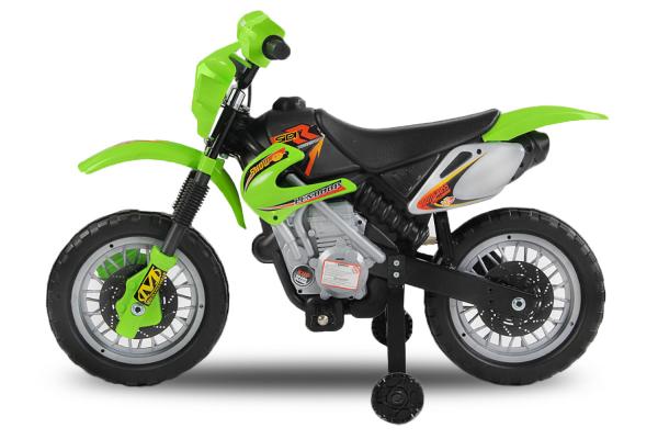 Motocicleta electrica pentru copii BJ014 45W 6V STANDARD #Verde [6]