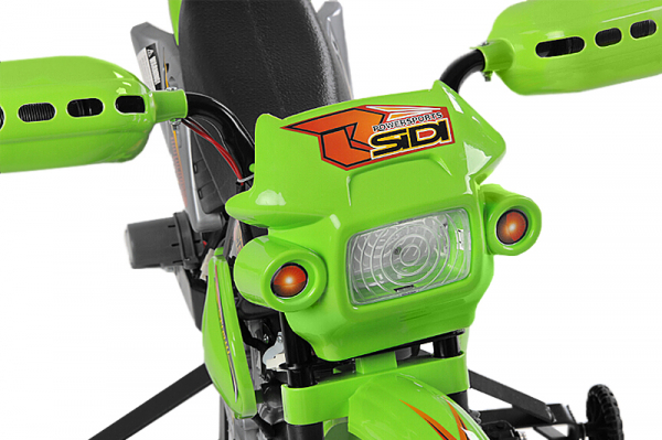 Motocicleta electrica pentru copii BJ014 45W 6V STANDARD #Verde [1]