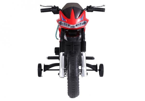 Motocicleta electrica pentru copii BJT5158 45W 6V STANDARD #Rosu 6