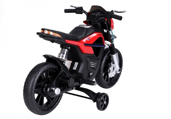 Motocicleta electrica pentru copii BJT5158 45W 6V STANDARD #Rosu 4
