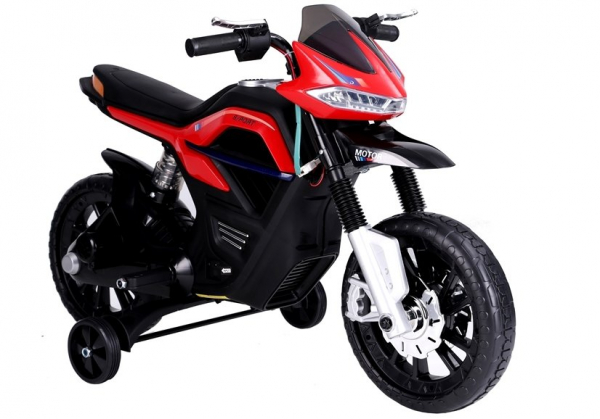Motocicleta electrica pentru copii BJT5158 45W 6V STANDARD #Rosu 0