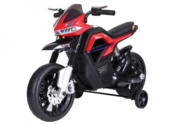 Motocicleta electrica pentru copii BJT5158 45W 6V STANDARD #Rosu 1