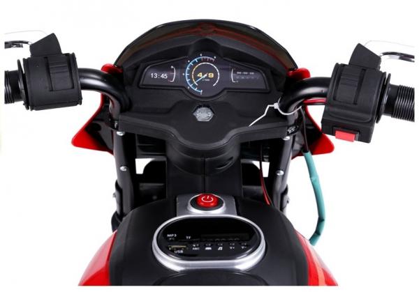 Motocicleta electrica pentru copii BJT5158 45W 6V STANDARD #Rosu 8