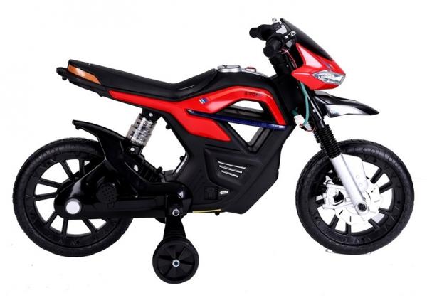 Motocicleta electrica pentru copii BJT5158 45W 6V STANDARD #Rosu 5