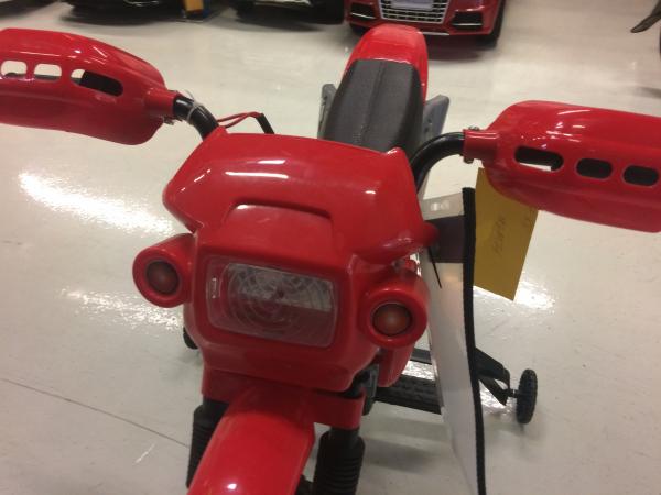 Motocicleta electrica pentru copii BJ014 45W 6V STANDARD #Rosu 7
