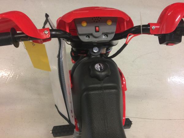 Motocicleta electrica pentru copii BJ014 45W 6V STANDARD #Rosu 6