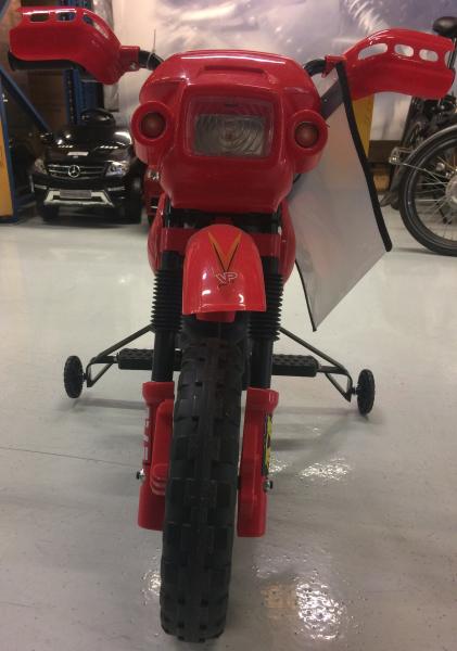 Motocicleta electrica pentru copii BJ014 45W 6V STANDARD #Rosu 3