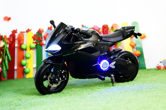 Motocicleta electrica copii 3-9 ani, SX1629, neagra [3]