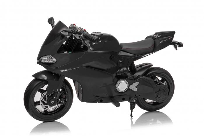 Motocicleta electrica copii 3-9 ani, SX1629, neagra [12]